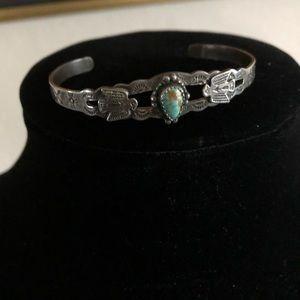 Jewelry - Southwest sterling Turquoise bracelet